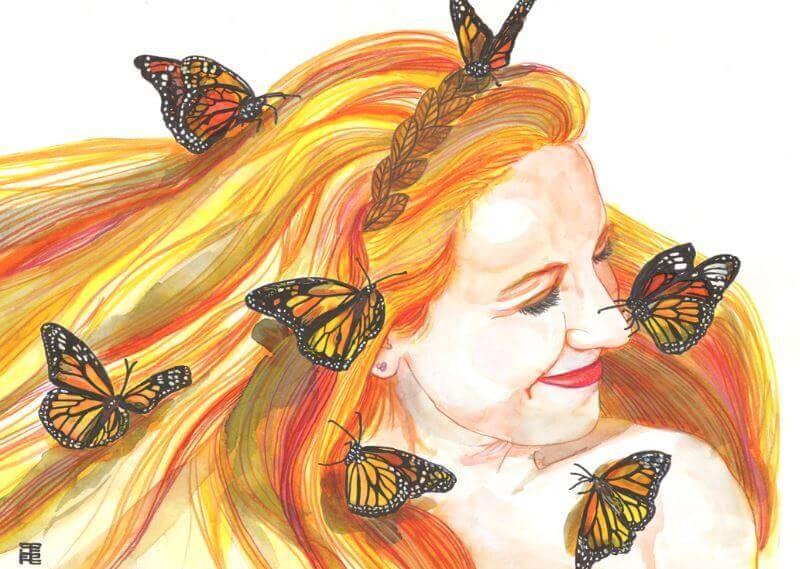 sorriso-mulher-com-borboletas