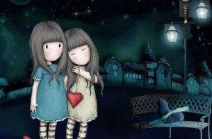 A amizade duplica as alegrias e divide as angústias pela metade