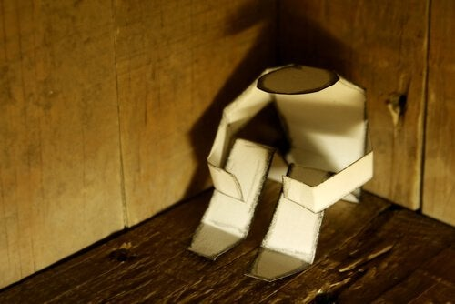 boneco-papel-triste-por-consumo-de-drogas