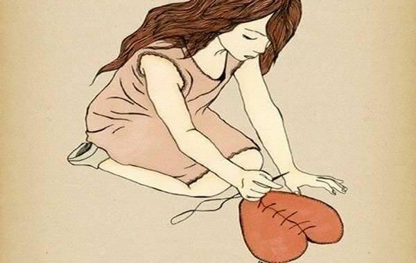 mulher-costurando-coracao-rasgado-por-predador-emocional