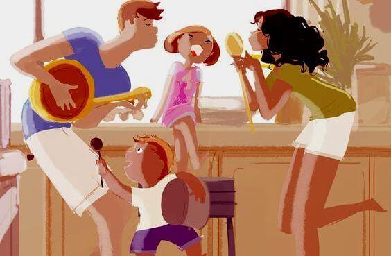 Dinâmica familiar saudável