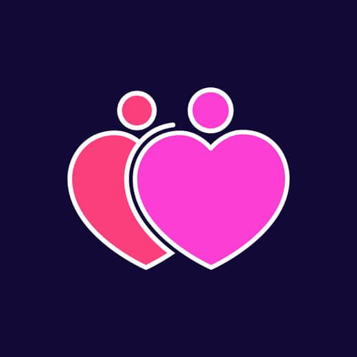 corações almas gêmeas