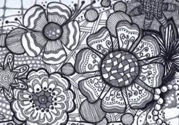flores-zentangle