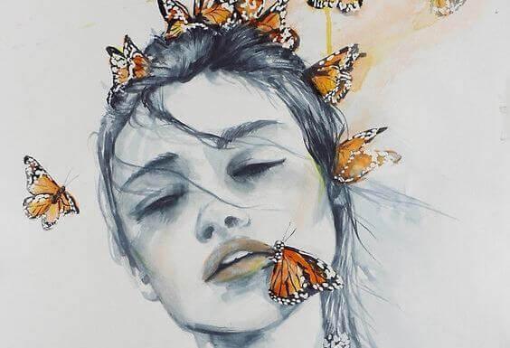mulher-com-borboletas-sensibilidade