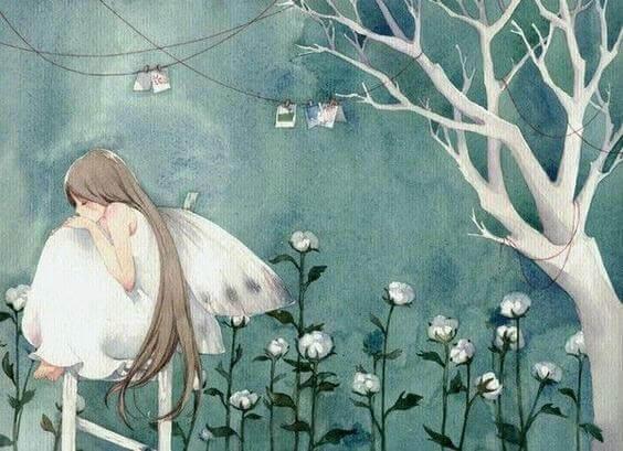 menina-pensando-natureza