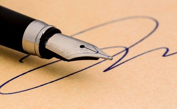 O que a sua assinatura revela sobre você