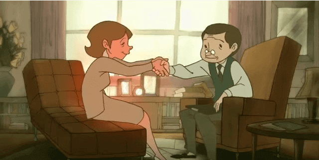 mulher-dando-as-maos-ao-psicologo