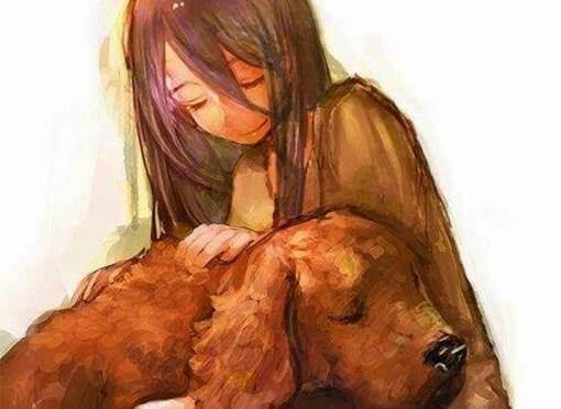 Quando um animal deixa de estar ao seu lado, ele não vai embora