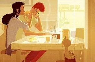 """Meu parceiro não """"me ajuda"""" em casa: ambos colaboramos"""