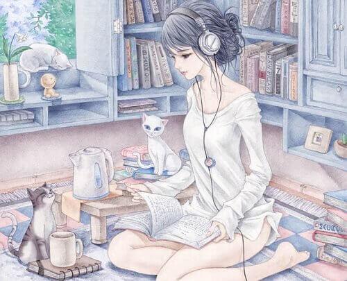 mulher-com-gatos