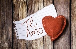 O momento de dizer 'eu te amo'