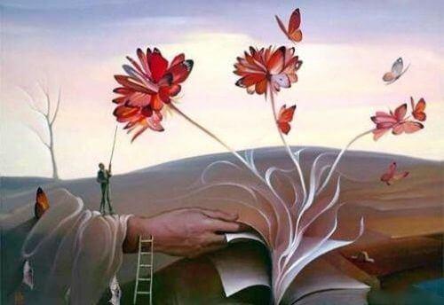 livro-com-flores