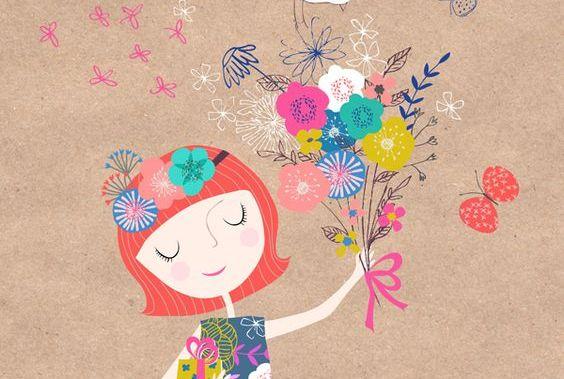 mulher-com-flores-coloridas