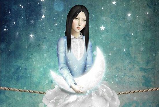 mulher-segurando-lua