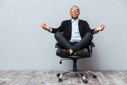 filosofia zen calma no trabalho