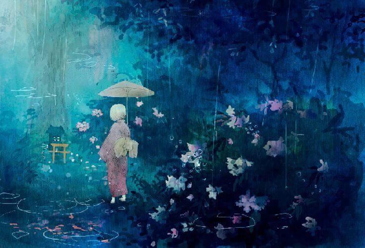 pessoa-chuva-floresta