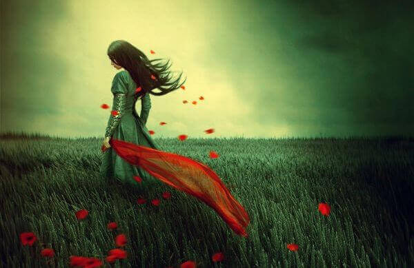 mulher-campo-rosas