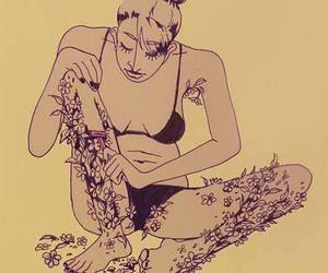 mulher-depilacao-flores