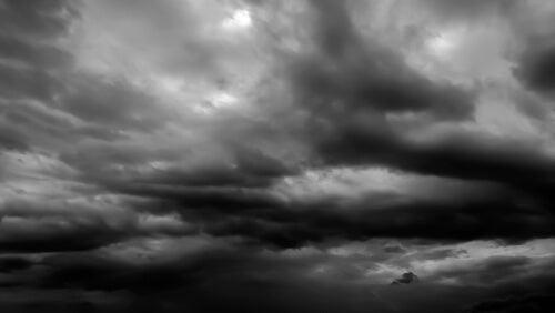O mundo passa por uma nuvem negra