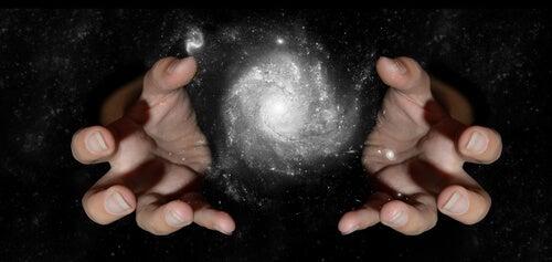 correr atrás com a ajuda do universo