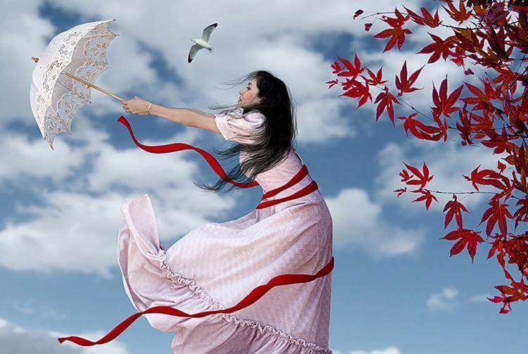 mulher-vento-sombrinha