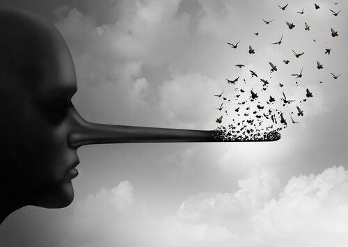 mentiras e confrontos