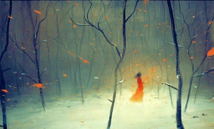 mulher-floresta