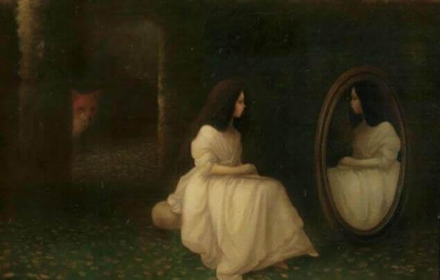 mulher-se-olhando-no-espelho