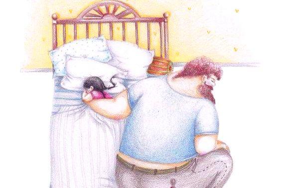 pai-colocando-filha-para-dormir