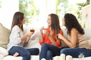 A amizade não tem o mesmo significado para mulheres e para os homens