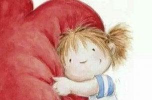 O coração precisa de vitamina A, B, C: Abraços, Bondade e Carinho