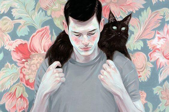 homem-com-gato-preto