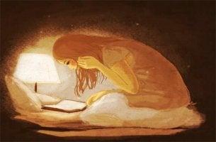 A madrugada pertence aos apaixonados, aos sonhadores e aos leitores