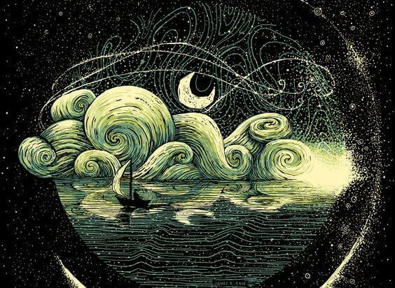 oceano-lua