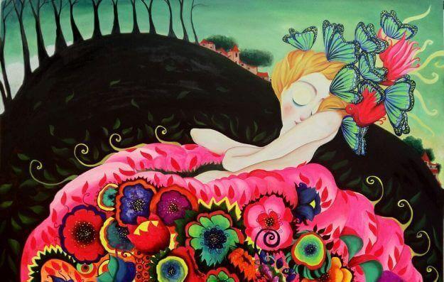 mulher-borboletas-saia