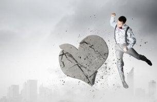 O coração não se parte se você for inteiro