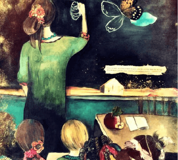 professora-criancas