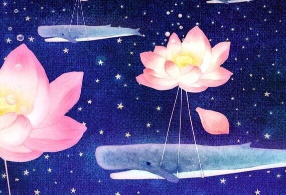 baleias-voando-flores