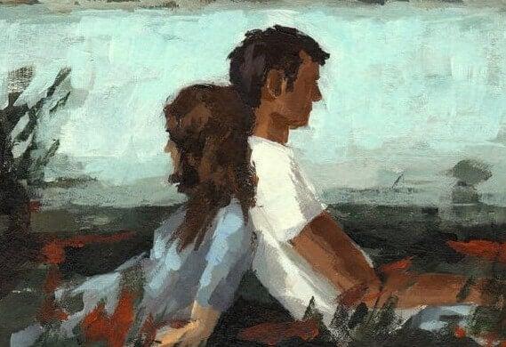 casal-sentado-de-costas