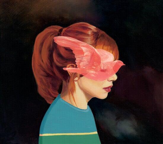 mulher-pomba-rosa