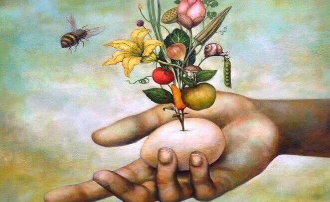 abelha-flores