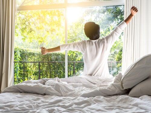 acordar com a perfeição do dia