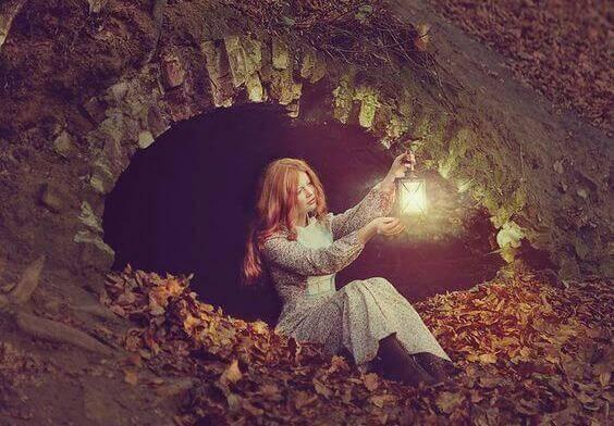 mulher-caverna