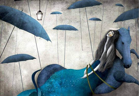 mulher-cavalo-azul