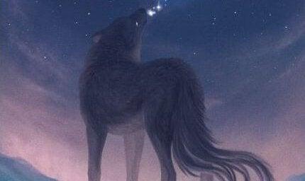 lobo-uivando-a-noite