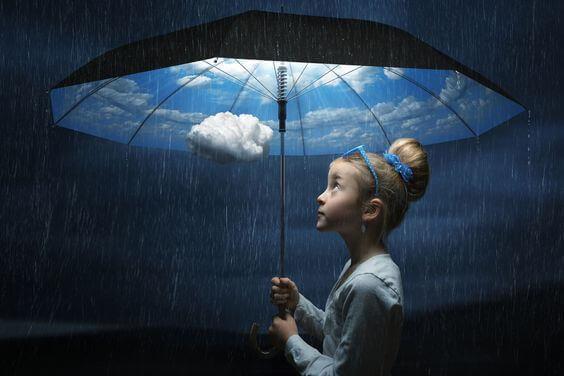 menina-chuva