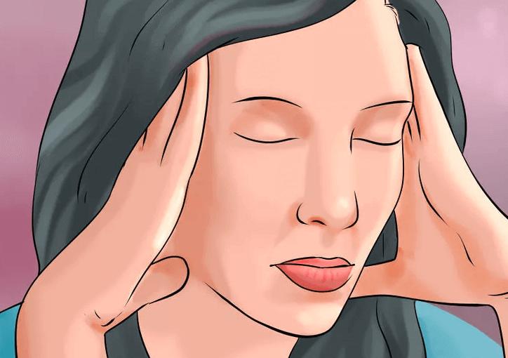 Mulher sentindo ansiedade