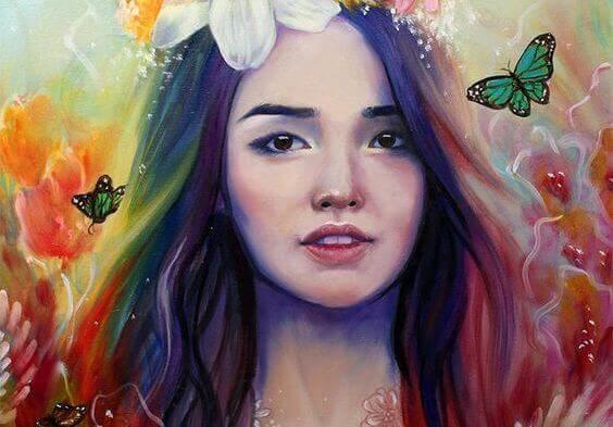mulher-borboletas