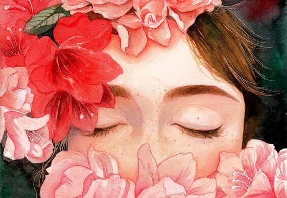 mulher-de-olhos-fechados