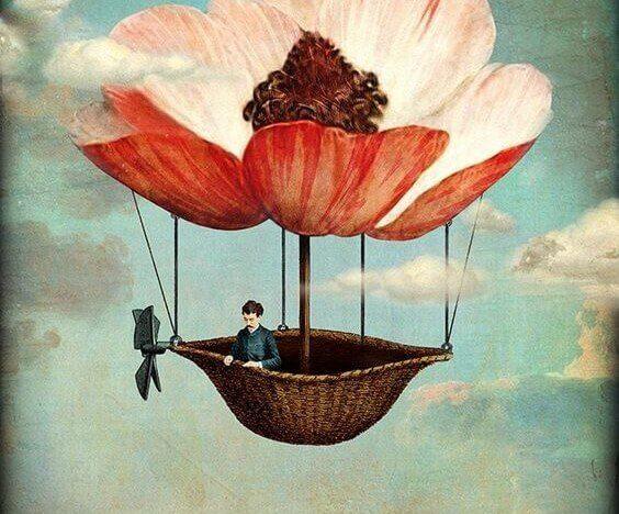 balao-flor-voando